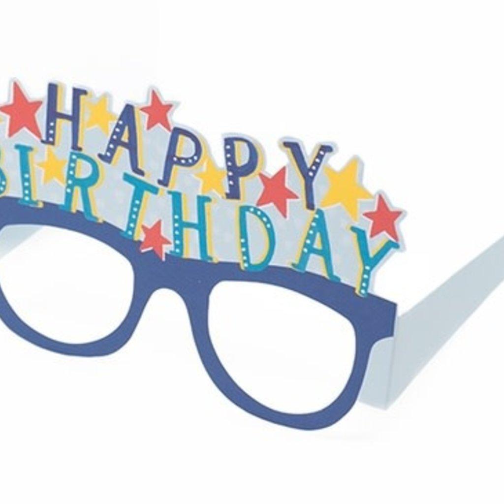 Enfant Terrible Wenskaart bril Enfant terrible: happy birthday