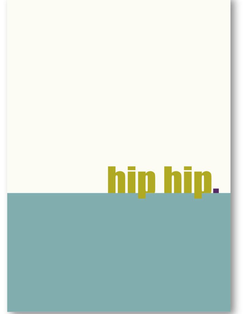 Makerij Meskens Makerij Meskens Kaartje A6: hip hip.