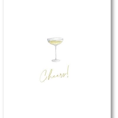 Makerij Meskens Makerij Meskens Kaartje A6: Cheers! coupe
