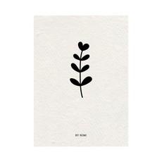 By romi By romi kaart a6 bloem/papier