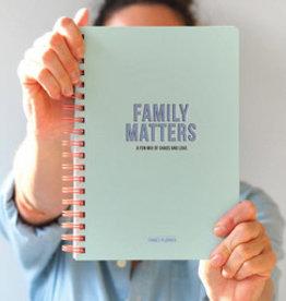 studio stationery Studio stationery Undated Family planner Family Matters