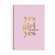 Studio stationery Studio stationery notebook yes girl yes