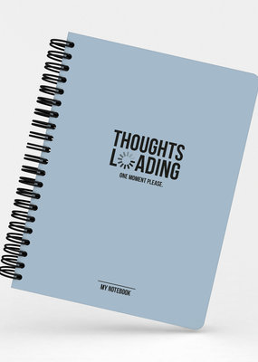 studio stationery Studio stationery: notebook thoughts loading one moment please