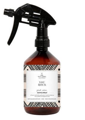 the gift label The gift label roomspray  You rock  SS21 (fresh cotton)