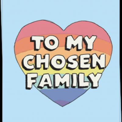 Kaart Blanche Kaart Blanche: kaart a6 + envelop to my chosen family