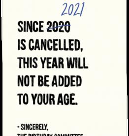 kaart Blanche Kaart Blanche: kaart a6 + envelop 2021 is cancelled