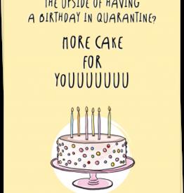 kaart Blanche Kaart Blanche: kaart a6 + envelop more cake