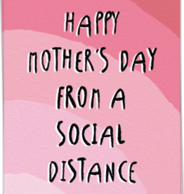 kaart Blanche Kaart Blanche: kaart a6 + envelop happy mother's day from a social distance
