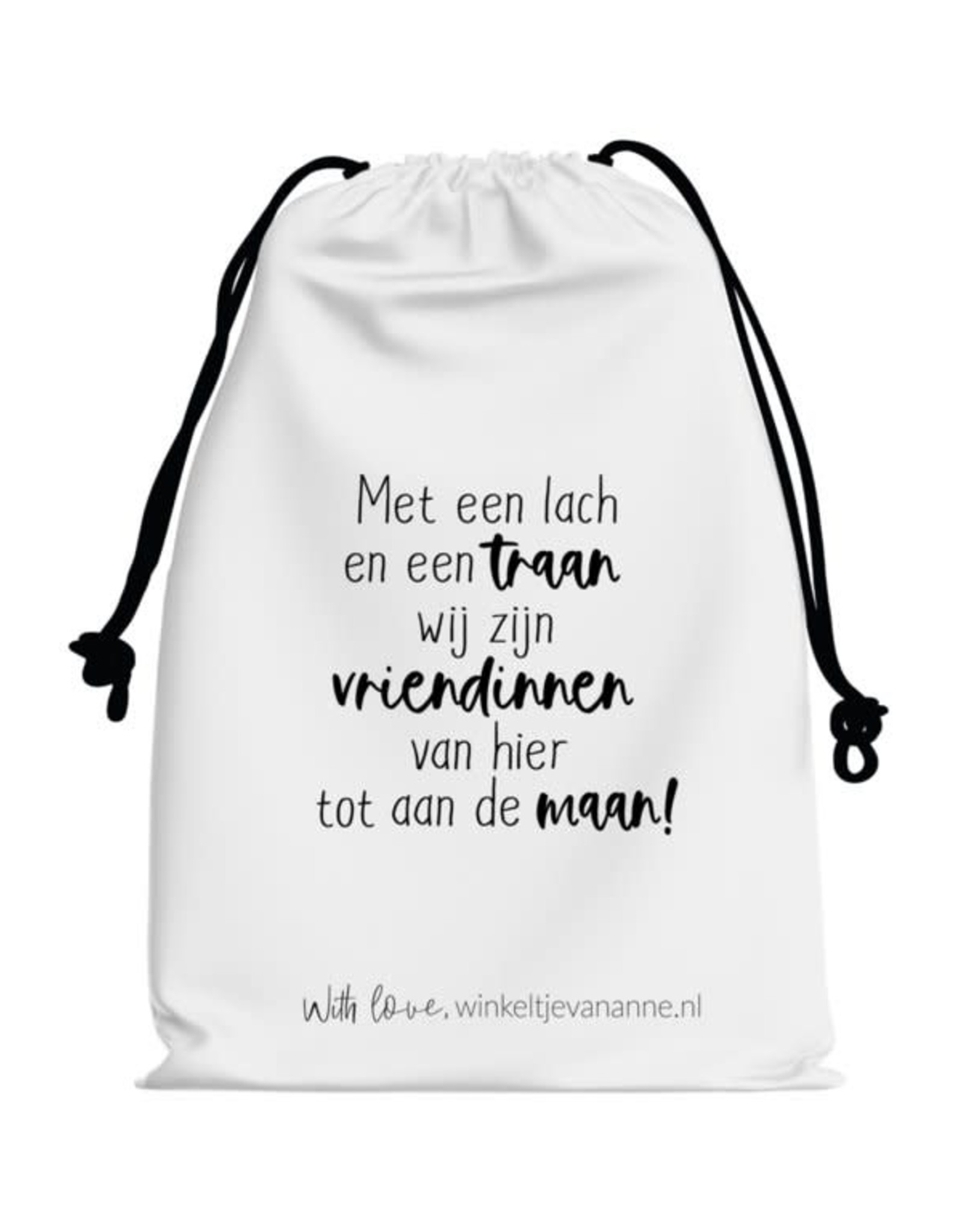 Winkeltje van Anne Winkeltje van anne Katoenen zakje | vriendinnen