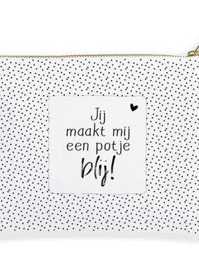 Winkeltje van Anne Winkeltje van anne: Etui | Toilettasje | Jij maakt mij een potje blij
