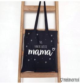 Miek in vorm miek in vorm tas van de liefste mama