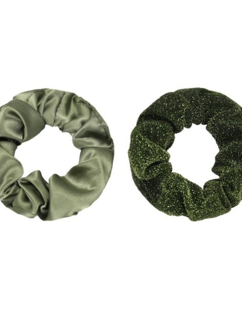 Musthaves Scrunchie 2 stuks groen