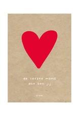 By romi Moederdag / Kaart / De liefste mama dat ben jij