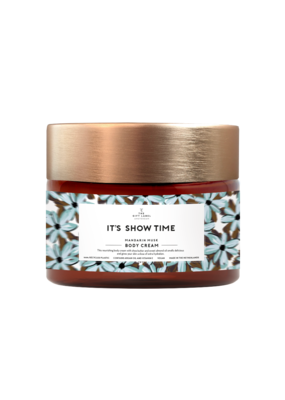 the gift label The gift label: Body cream 250 ml - it's showtime