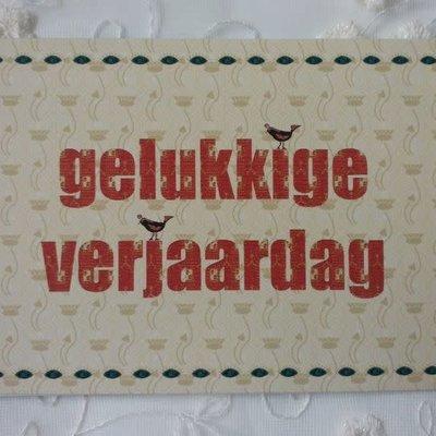 IsArt Wenskaart IsArt 04 gelukkige verjaardag