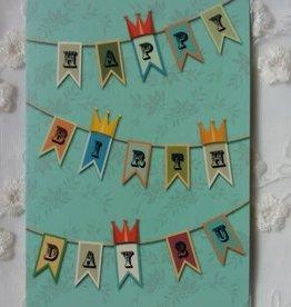 IsArt Wenskaart IsArt 08 happy birthday 2 you