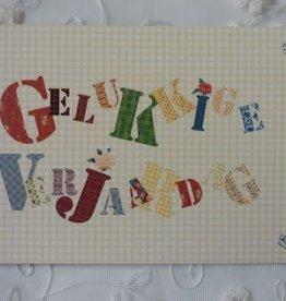 IsArt Wenskaart IsArt 10 gelukkige verjaardag