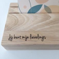Printpraat Printpraat: Koesterplankje met geurstokjes - jij bent mijn lievelings