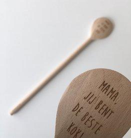 Printpraat Printpraat: kooklepel - mama, jij bent de beste kok