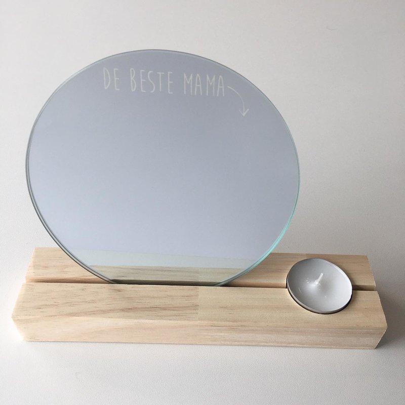 Printpraat Printpraat: Spiegel met een boodschap - de beste mama