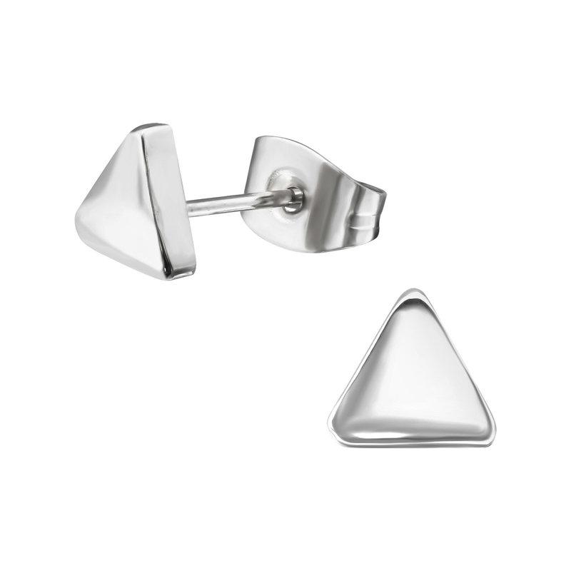 Precious jewels precious jewel: oorbellen driehoek zilver