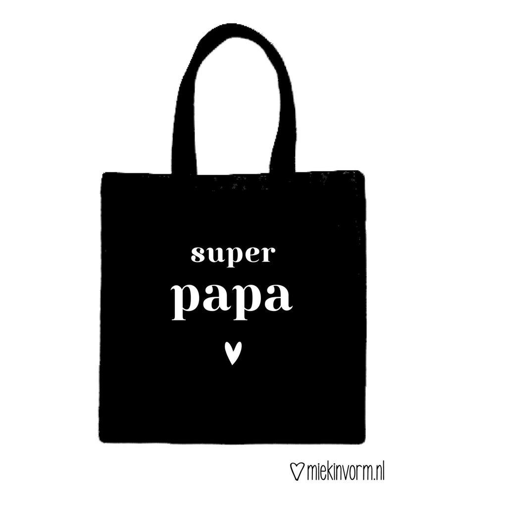 Miek in vorm miek in vorm tas super papa