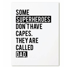 Zoedt kaart a6 Zoedt: Some superheroes don't have capes. They are called dad