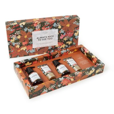 The gift label The gift label luxe hand & body care gift set - always nice to see you