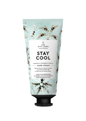 the gift label the gift label Hand cream tube Stay cool SS21