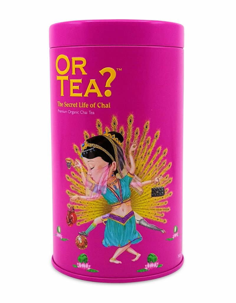 Or tea? or tea? The Secret Life of Chai