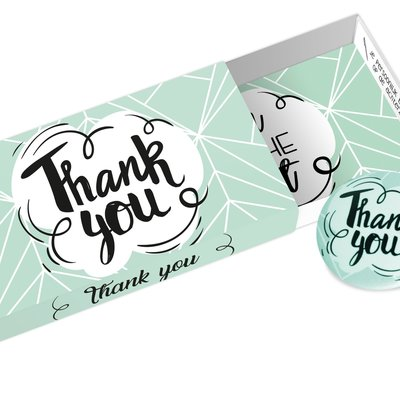 Paper art Paper art: Greeting Box Thank you