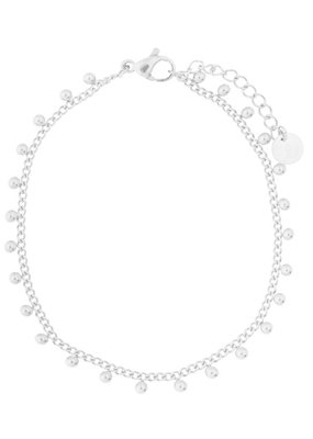 Essentialistics Essentialistics armbandje Tiny dots - zilver