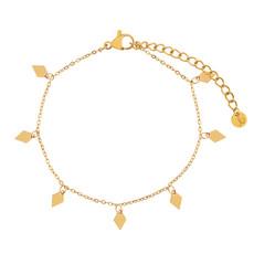 Essentialistics Essentialistics armbandje diamanten - goud