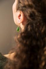 &Anne &Anne: Oorbellen green dip