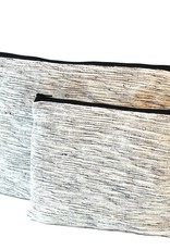 Anna Nera ANNA NERA Fairtrade Toilettas - Beautycase - Toilettas - Etui - Tas voor echt alles Wit M 15x21cm