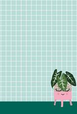 studio inktvis notitieblok a6 plantenpot
