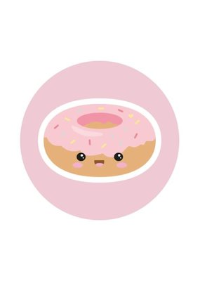 By romi By romi Pink Goodies / Magneet / Donut