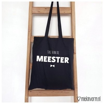 Miek in vorm miek in vorm tas van de meester