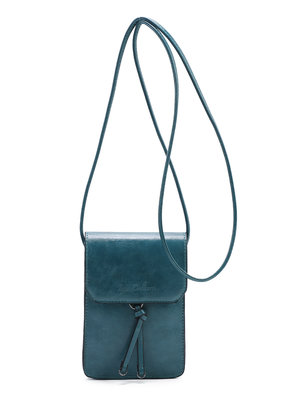Ines Delaure Ines Delaure handtasje emmeraude (groen/blauw)
