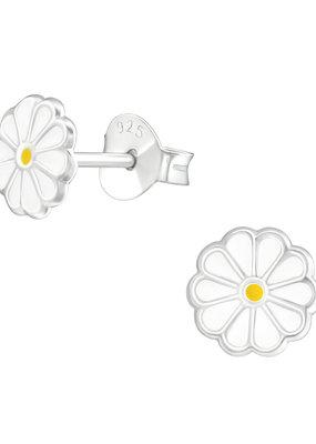 Precious jewels Precious jewels: bloemetjes wit geel