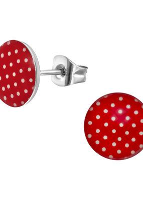 Precious jewels Precious jewels: rood met witte stipjes