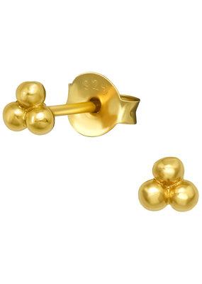 Precious jewels Precious jewels: 3 bolletjes goud