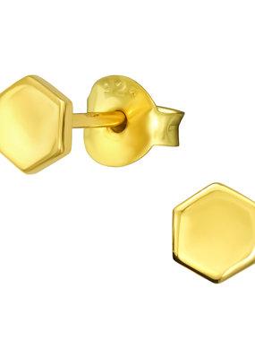 Precious jewels Precious jewels: zeshoek  goud