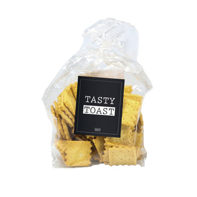 Geven is leuker Geven is leuker: Tasty Toast tomato & oregano