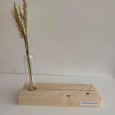 Papierpleziertjes Papierpleziertjes Plankpleziertje bloem buisje