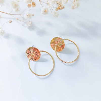 Isa en Roza Isa en Roza  oorbellen oorbellen goud