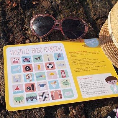 Papiergoed Papiergoed vakantie bingo Engeland