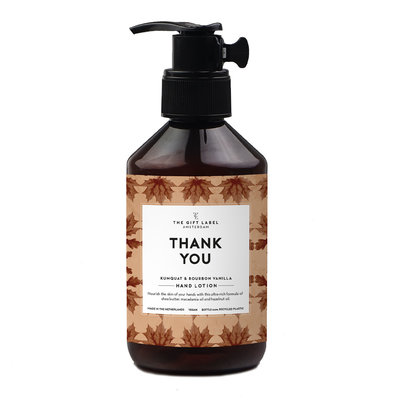 The gift label the gift label hand lotion 250 ml - Thank you