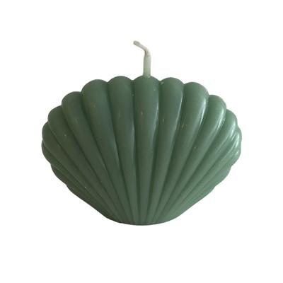 Voenk Voenk: kaars schelp L groen