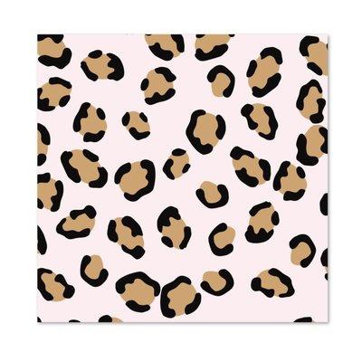Stationery & gift Stationery & gift kaftpapier pink leopard